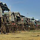 Fisherman Village - Cambodia by Christophe Dur