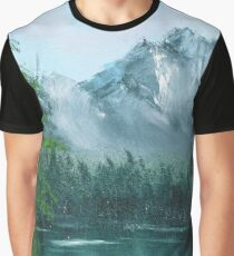 Lake by the mountain side Graphic T-Shirt