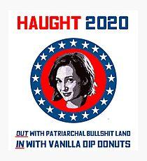 Haught 2020 - Vanilla Dip Donuts Photographic Print