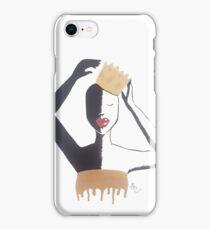 Adjust your crown Queen iPhone Case/Skin