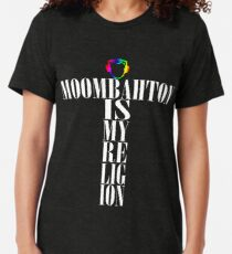 Moombahton Is My Religion Tri-blend T-Shirt