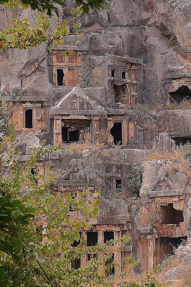 Myra, human heritage in stone by loiteke