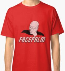 Star Trek Facepalm Classic T-Shirt