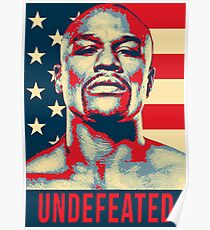 Floyd Mayweather Undefeated Poster