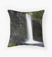Pontneddefchan falls #2 Throw Pillow