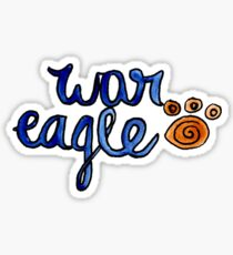 Auburn University war eagle Sticker