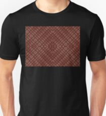 Chocolate bar mosaic texture taken closeup as food background. T-Shirt
