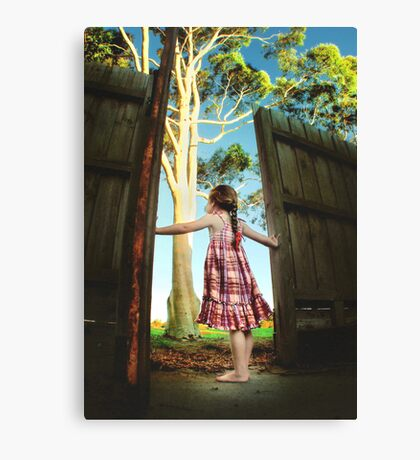 Escape... Canvas Print