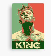 Conor McGregor King Canvas Print