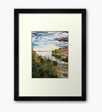 Autumn in Canada Framed Print