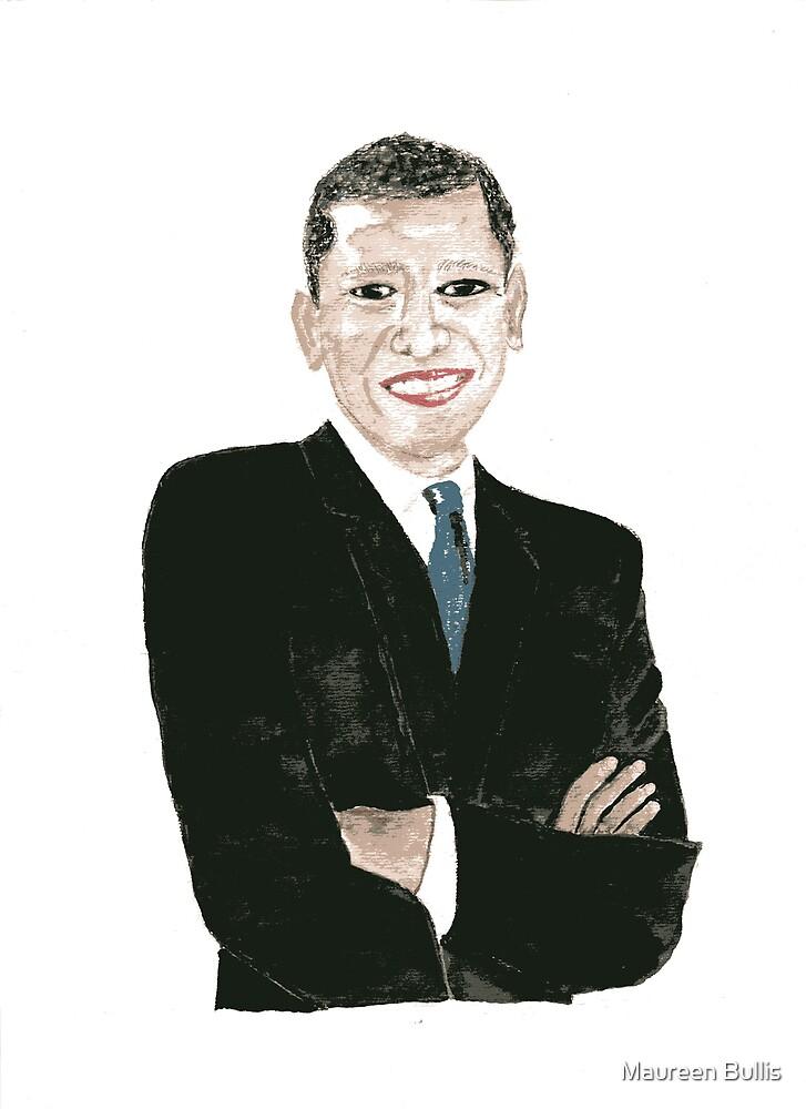 Barack Obama by Maureen Bullis