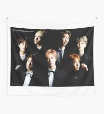 BTS Group Photo Wall Tapestry