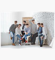BTS-Gruppenfoto Poster