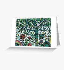 Leafy Garden Greeting Card