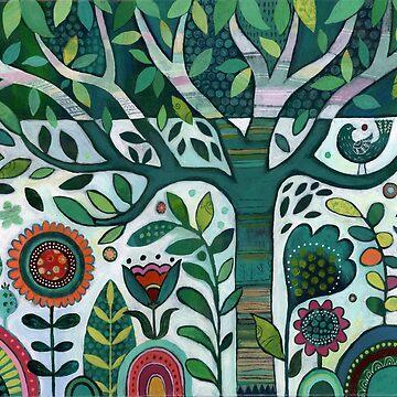 Leafy Garden by jbroxon