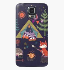 Woodland Animals Campout Case/Skin for Samsung Galaxy