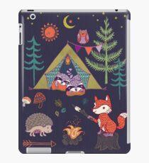 Waldtiere Campout iPad-Hülle & Klebefolie