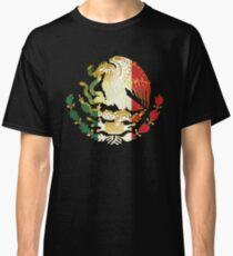 Golden Mexican Coat Of Arms Classic T-Shirt