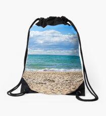 At The Beach...Mornington Peninsula. Drawstring Bag