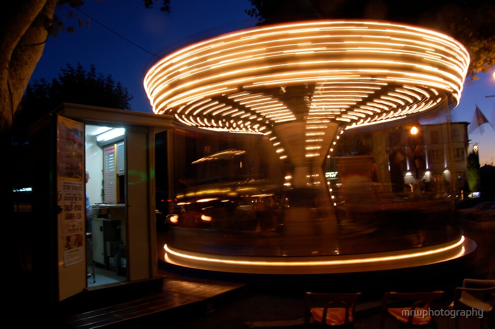 French Carousel by mrwphotography