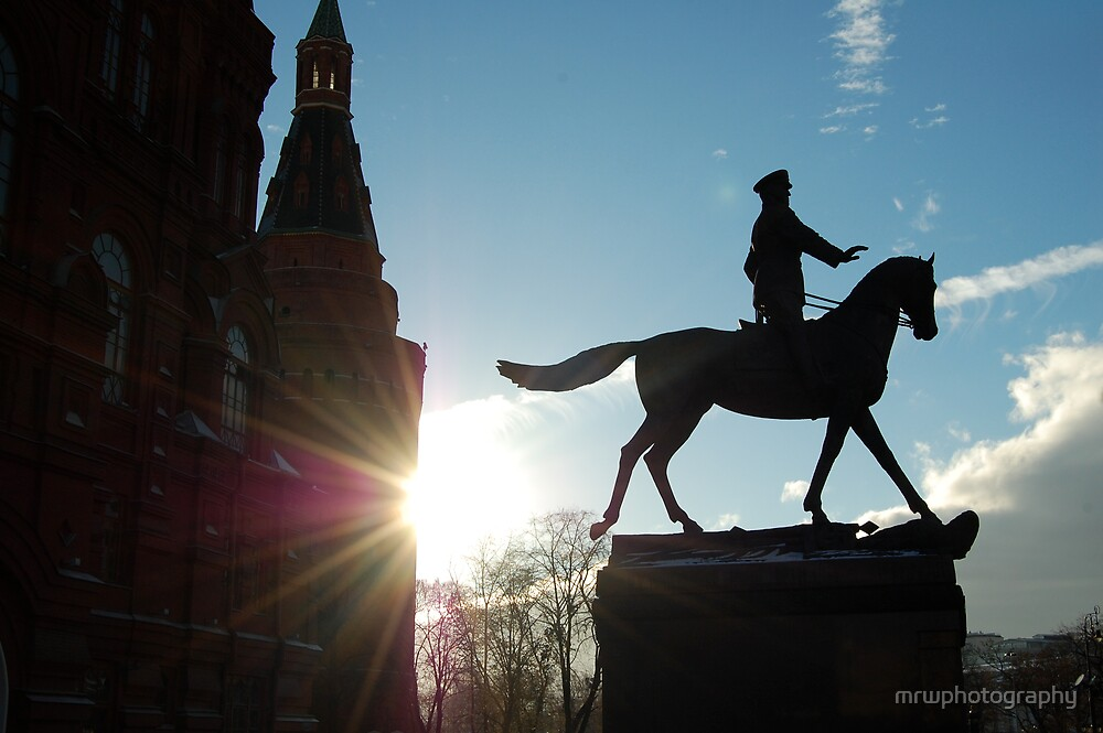 Moscow Statue by mrwphotography