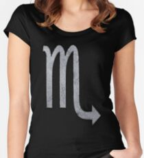 Scorpio Zodiac Sign Women's Fitted Scoop T-Shirt