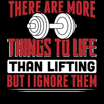 Lifting Is Life by THINKGAINZ