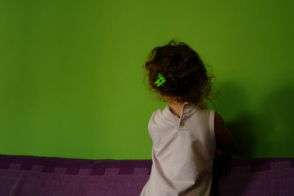 The green wall by Ivana Ivanova Milcinoska