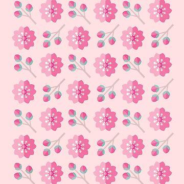 Sakura Cherry Blossoms by daisy-beatrice