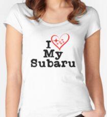 I heart my Subaru Women's Fitted Scoop T-Shirt