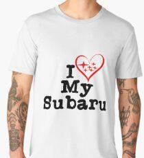 I heart my Subaru Men's Premium T-Shirt