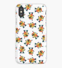 Happy Robot Pattern iPhone Case/Skin