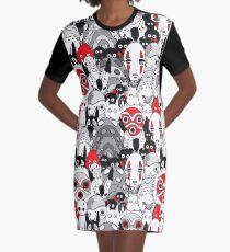 Studio Ghibli Graphic T-Shirt Dress