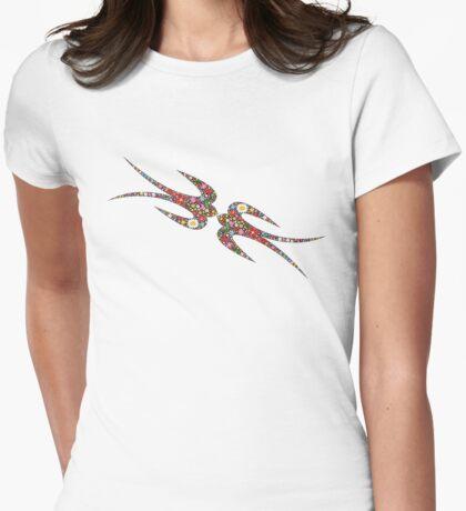 'Yen Zhi' Swallows Spring Flowers T-Shirt