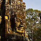 Giant Stone - Cambodia by Christophe Dur
