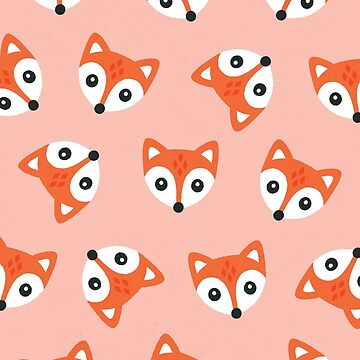 Little Red Foxes - blush by daisy-beatrice