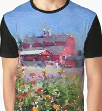 On the farm... Graphic T-Shirt