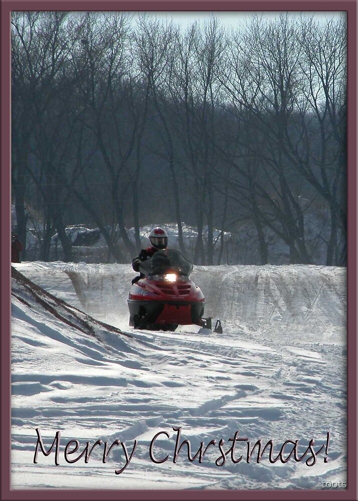 Snowmobile Rider by toots
