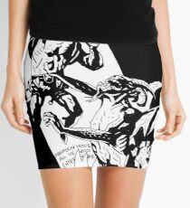 Hellboy in Hell Tracing Mini Skirt