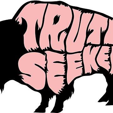 Truthseeker Buffalo Skin by truthseekertees