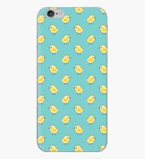 Busy Chicks - Aqua iPhone Case