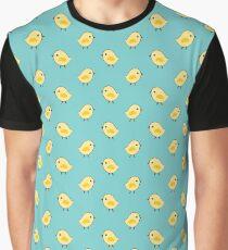 Busy Chicks - Aqua Graphic T-Shirt
