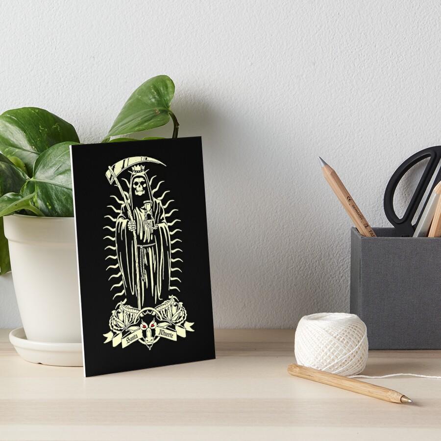 Santa Muerte Lámina rígida