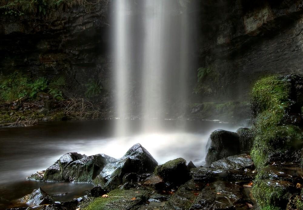 Waterfall of Pontneddefchan by igotmeacanon