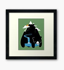 The Mountain Bear Framed Print