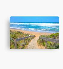Portsea Ocean Beach..... Canvas Print