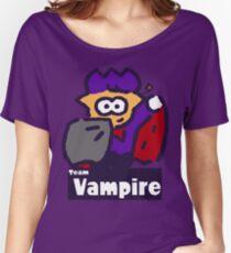 Splatfest 2 Team Vampire v.2 Women's Relaxed Fit T-Shirt