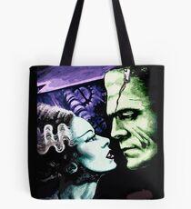 Bride & Frankie Monsters in Love Tote Bag