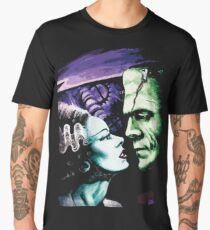 Bride & Frankie Monsters in Love Men's Premium T-Shirt