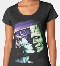 Bride & Frankie Monsters in Love Women's Premium T-Shirt